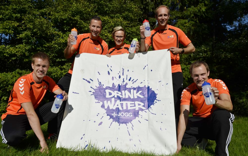 JOGG campagne Drink Water